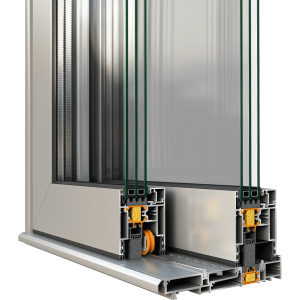 Lift & slide insulated system SUPREME S700